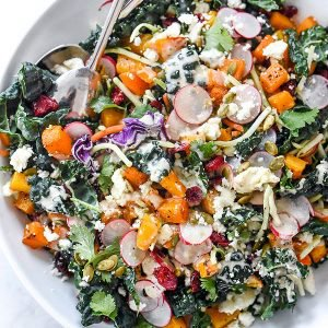 Chopped Mexican Kale Salad and Better Blog Retreat 2016