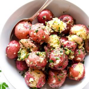 The Best Buttery Parsley Potatoes