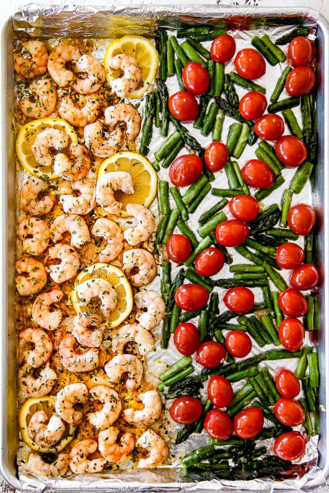 Sheet Pan Shrimp Scampi (No wine!)