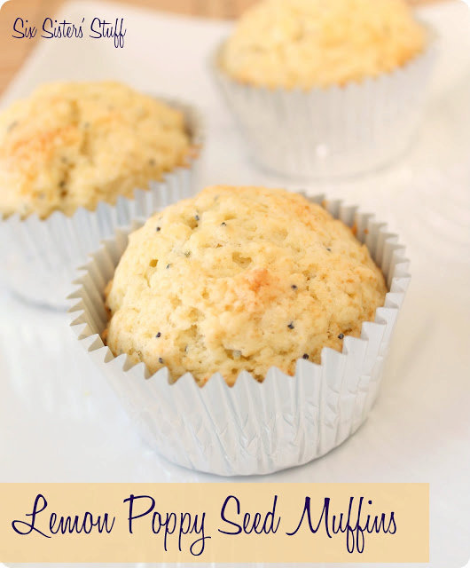 Lemon Poppy Seed Muffins Recipe {with Truvia® Baking Blend}
